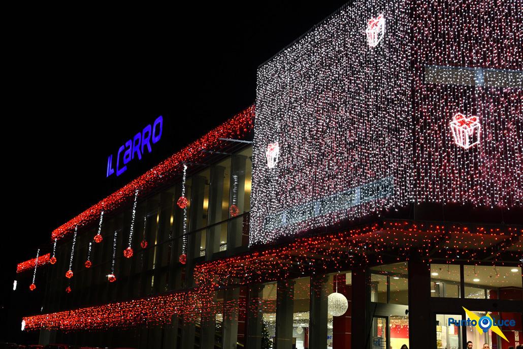 Luminarie Natalizie per centri commerciali
