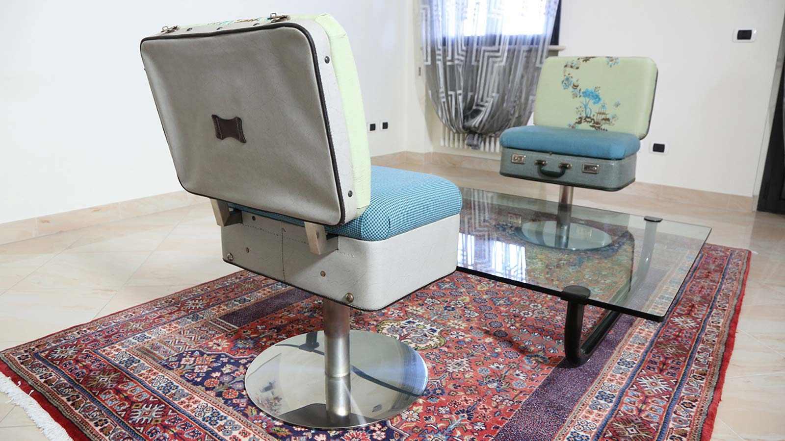 Poltrona Valigia Poligoni Design