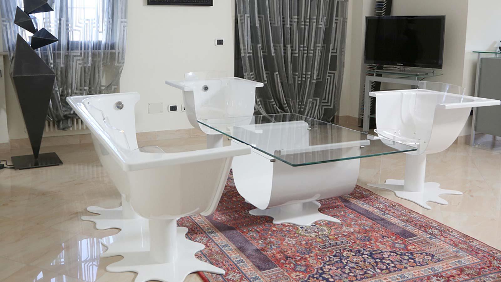 Divano per salotto design